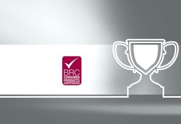 Η ROLCO αποκτά το Πιστοποιητικό BRC Global Standard for Consumer Products